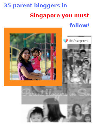 Singapore Top35 Parenting Blogger